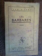les barbares / Jean d'Esmé