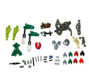 LEGO Bionicle parts lot Technic Hero Factory assorted replacement pieces and tub
