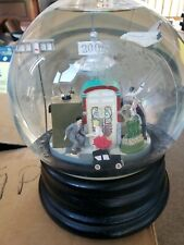 Musical Rotating Car Plane and Shuttle Snow Globe In History.