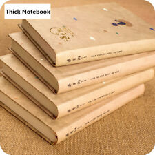 SALE! 1pcThick Cute Hardcover Notebook Student Drawing Diary Book Blank Journal