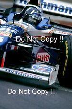 Damon Hill Williams FW18 MONACO GRAND PRIX 1996 fotografia 1