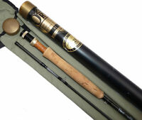 """Orvis HLS Graphite 9'6"""", 2 piece trout fly rod, bag & Orvis alloy tube"""