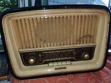 Radio Vintage Telefunken Desirè R232 Anni 50 Radio D'epoca In legno