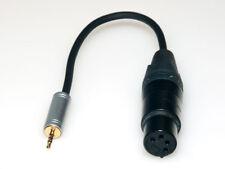 Adattatore di 2,5mm 4-Pol jack su 4pol XLR PRESA - HIGH-RES Player Simmetrico