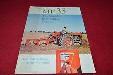 Massey Ferguson 35 Tractor Dealers Brochure YABE14