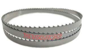 "2375mm (93-1/2"") Bandsaw Blades Various Width & Tooth - WOOD - METAL - PLASTIC"