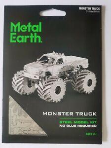 Metal Earth Monster Truck model kit