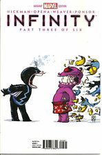 Infinity #3  Skottie Young   Variant Cover   INF   Marvel Now!