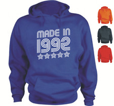 MADE IN 1992 Your Date Custom Birthday Hoodie