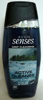 (100 ml = 1,80 €) Avon - Senses Duschgel - Active Cleanse
