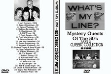 What's My Line Mystery Guest DVD Collection 50's Part 2