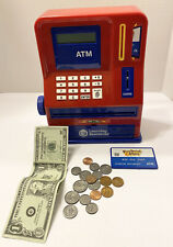 New Learning Resources Pretend & Play Teaching ATM Bank