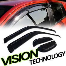 Rain/Wind Guard Tint Shade Window Visor 4P 99-16 F250 F350 Sd Extended/Super Cab
