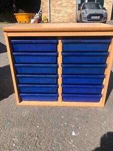 School Tray Storage Unit(used School Furniture,bradford)