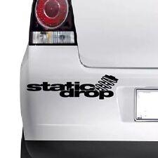 STATIC DROP Decal Vinyl Sticker For Window Windscreen Bumper Laptop Wall JDM