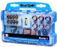 Rotary Tool Accessories Kit 31pc Bit Set Fits Dremel Type Multi Tool Mini Drill
