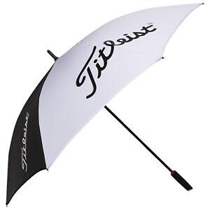 "Titleist Tour 62"" Single Canopy Golf Umbrella UV Protection Lightweight"