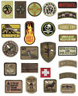 Rothco Military Combat  Morale Patches With Hook Back