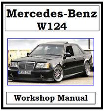 MERCEDES BENZ W124 124 WORKSHOP SERVICE REPAIR MANUAL ON CD OR DOWNLOAD