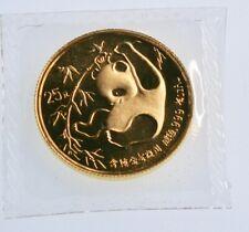1985 Panda Gold 1/4 oz Au Panda Gold