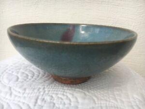 Large Jun Yao, purple splashed stone ware bowl Yuan Dynasty, China