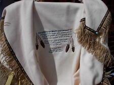Cherokee Wedding Blanket- Made To Look Native American