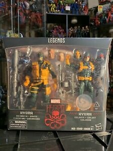 Marvel Legends Hydra 2-Pack Enforcer and Soldier TRU EXCLUSIVE
