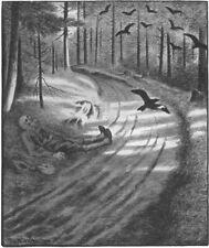 Poor man Theodor Severin Kittelsen Art A0 A1 A2 A3 A4 Photo Poster