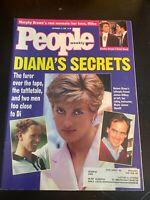 People Magazine September 14 1992 - Princess DIana Secret Love