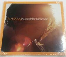 K.D. Lang Invincible Summer Cd Pop Rock Nwt New 2000 Vintage Digipak