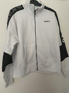 Womens Dkny Sweatshirt Hoodie Size Small Jacket