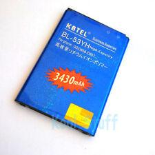 KBTEL High Capacity 3430mAh Battery for LG BL-53YH G3 VS985 F400 D850 D855