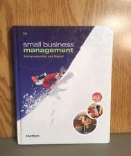 Small Business Management: Small Business Management : Entrepreneurship and Beyo