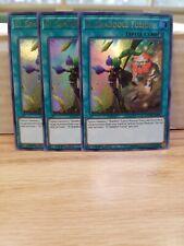 3x El Shaddoll Fusion 1st Edition Ultra Rare DUPO-EN096 Yu-Gi-Oh!