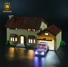 LED LIGHT KIT for Lego The Simpsons House 71006 ( Complete LED Light Kit )