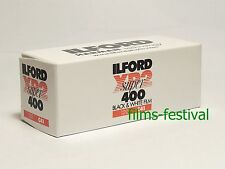 5 rolls ILFORD XP2 400 120 Black and White Film B&W C41 Process