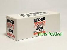 5 rolls ILFORD XP2 400 120 Black and White Film B&W C41 Process