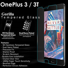 9h Premium Tempered Glass Screen Protector Cover Guard for One Plus 3 OnePlus 3t