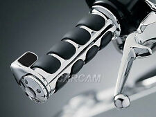 "1"" Chrome Handlebar Hand Grips for Honda Shadow ACE Aero Spirit VT 750 1100 Delu"