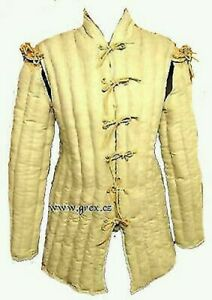 Medieval begie color Clothing Renaissance Gambeson