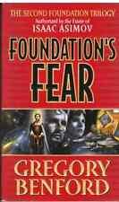 GREGORY BENFORD FOUNDATION'S FEAR BK 1 2ND FOUNDATION TRILOGY HCDJ 1997 1ST ED