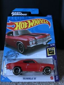 2020 Hot Wheels - '70 Chevelle SS - HW Screen Time 6/10; 236/250 Fast & Furious