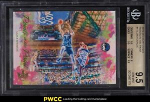 2019 Court Kings Points In the Paint Luka Doncic #11 BGS 9.5 GEM MINT