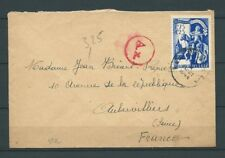 BELGIQUE - LETTRE - 1943 YT 636