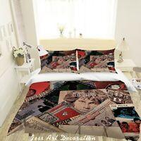 3D The Doors Rock Band Quilt Cover Set Pillowcases Duvet Cover 3pcs Bedding