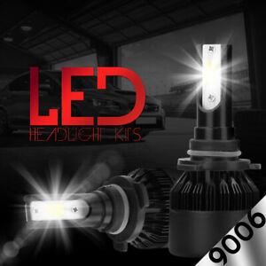 2 x CREE 9006 HB4 LED Low Beam Headlight Bulb Kit 388W 38800LM 6500K White Light