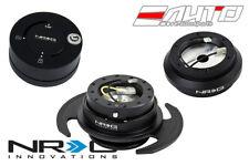 NRG Steering Wheel Hub + Black Gen3 Quick Release + Matt Lock Civic EF9 Integra