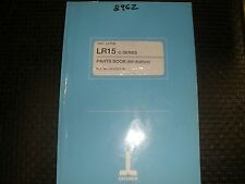 Okuma LR-15 CNC Lathe Parts Manual