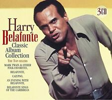 HARRY BELAFONTE~~RARE~~~~3 CDS~~CLASSIC ALBUM COLLECTION~NEW SEALED!!!!