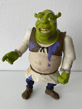 2004 Hasbro Shrek 2 Swamp Sludge Shrek Action Figure 68224 Press And Fart